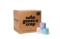 Who Gives a Crap 100% Recycled Toilet Paper (Single)